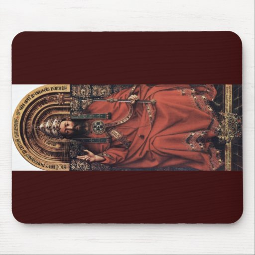 Enthroned God The Father By Eyck Hubert Van (Best Mouse Pad