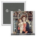 Enthroned Madonna And Angels Detail Pin