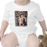 Enthroned Madonna And Angels Detail T Shirts
