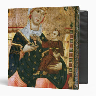 Enthroned Madonna and Child, c.1260 3 Ring Binder