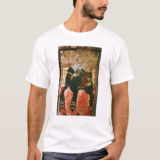Enthroned Madonna and Child, c.1260 T-Shirt