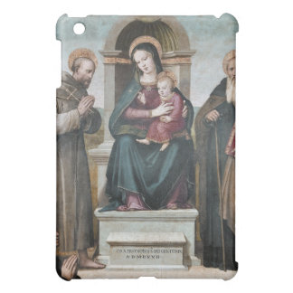 Enthroned Madonna and Child with Saints iPad Mini Covers