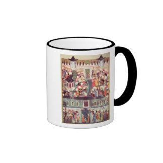 Enthronement of Suleyman the Magnificent Ringer Mug