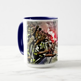 Enthusiasm and Joy by Fenerbahçe Fans Mug