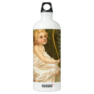 Enthusiasm for Life Aluminum Water Bottle