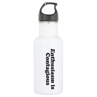 Enthusiasm is Contagious - Mult_Products Stainless Steel Water Bottle
