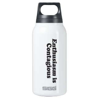 Enthusiasm is Contagious - Mult_Products Thermos Water Bottle