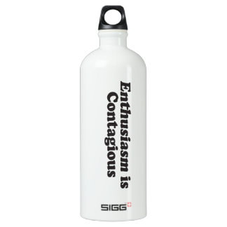 Enthusiasm is Contagious - Mult_Products Water Bottle