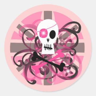 Entice~ Classic Round Sticker