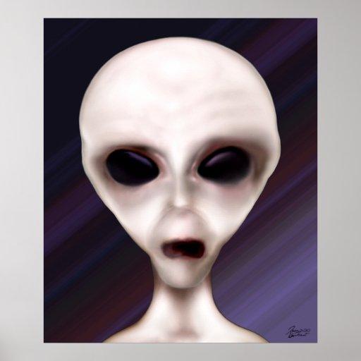Entidad biológica extraterrestre impresiones
