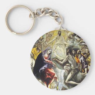 Entierro de El Greco de la cuenta del llavero de O