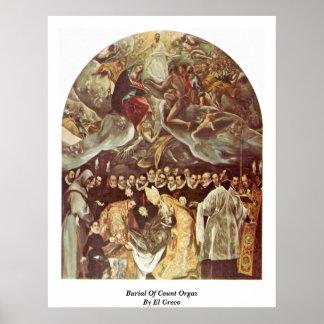 Entierro de la cuenta Orgaz de El Greco Impresiones