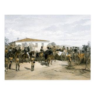 Entierro de señor Raglan del mariscal de campo Tarjetas Postales