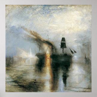 Entierro en el mar póster