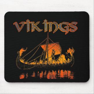 Entierro Mousepad de Viking Alfombrillas De Ratón