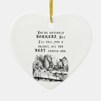 entirely bonkers A4 Ceramic Ornament