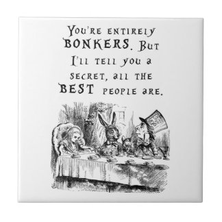 entirely bonkers A4 Ceramic Tile