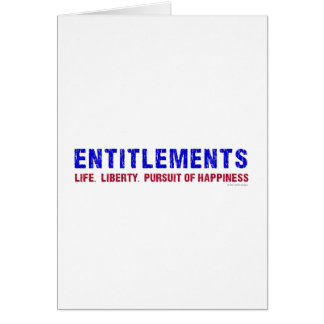 Entitlements Card