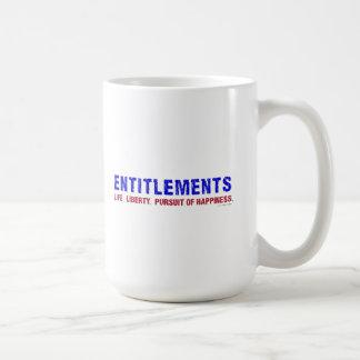 Entitlements Mugs