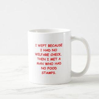 entitlements coffee mug