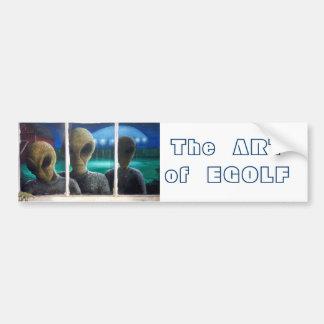 Entity Entry, The  ART  of  EGOLF Bumper Sticker