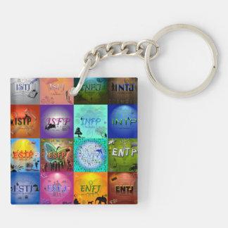 ENTJ Keychain