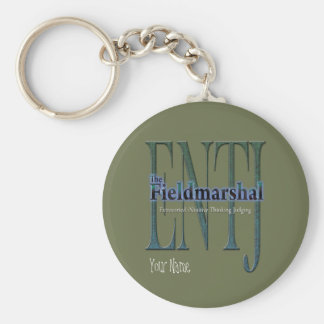 ENTJ theFieldmarshal Keychain