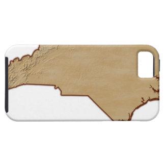 Entlastungs-Karte des North Carolina iPhone SE/5/5s Case