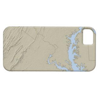 Entlastungs-Karte von Maryland iPhone SE/5/5s Case