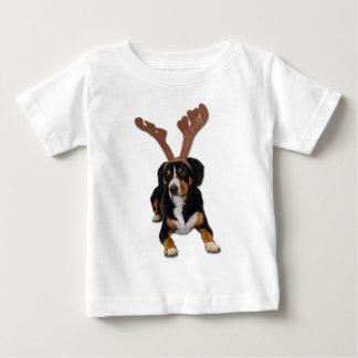 Entlebucher Christmas Dog Baby T-Shirt