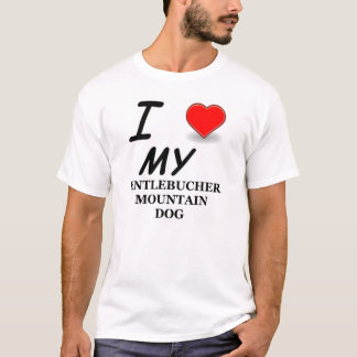 entlebucher love T-Shirt