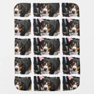 Entlebucher Mountain Dog Baby Blankets