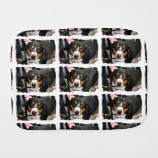 Entlebucher Mountain Dog Burp Cloth