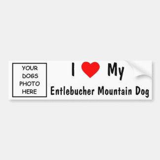 Entlebucher Mountain Dog Car Bumper Sticker