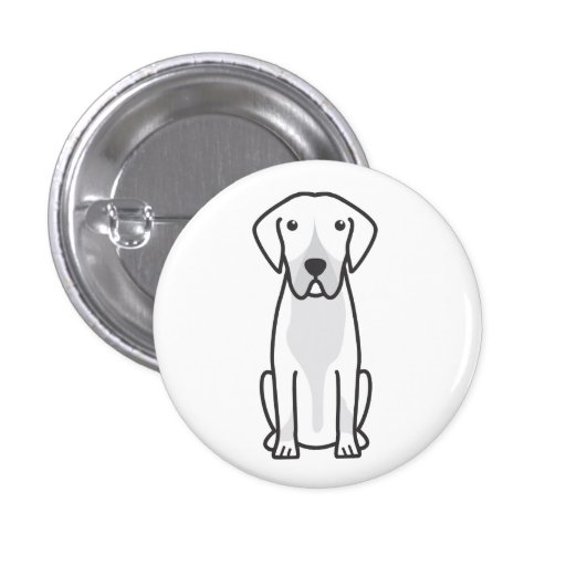 Entlebucher Mountain Dog Cartoon Pin