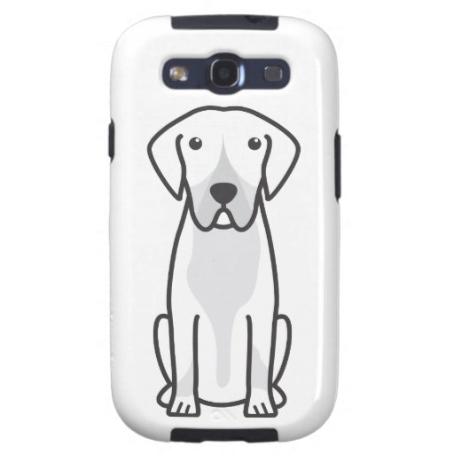 Entlebucher Mountain Dog Cartoon Samsung Galaxy SIII Cases