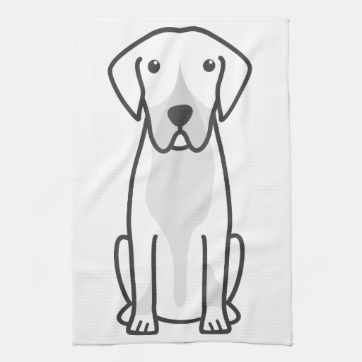 Entlebucher Mountain Dog Cartoon Towel