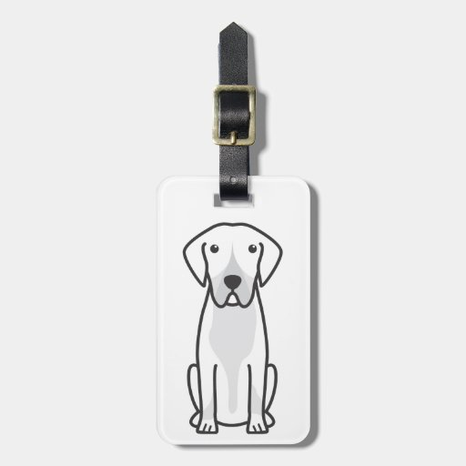 Entlebucher Mountain Dog Cartoon Tags For Luggage