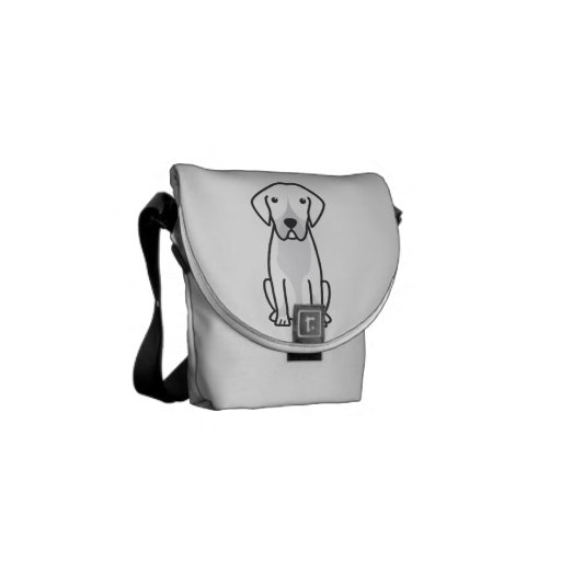 Entlebucher Mountain Dog Cartoon Courier Bags