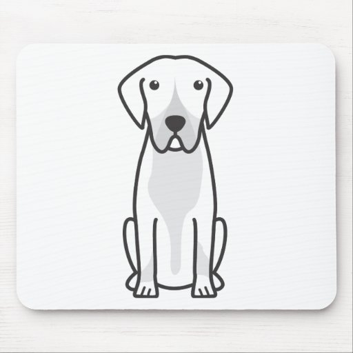 Entlebucher Mountain Dog Cartoon Mousepad