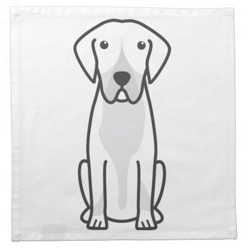 Entlebucher Mountain Dog Cartoon Printed Napkins