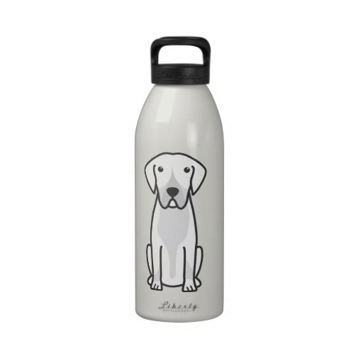 Entlebucher Mountain Dog Cartoon Reusable Water Bottle