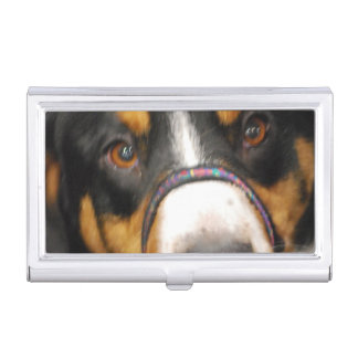 Entlebucher Mountain Dog Case For Business Cards