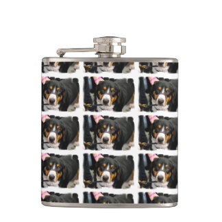Entlebucher Mountain Dog Flasks