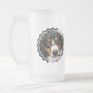 Entlebucher Mountain Dog Frosted Mug