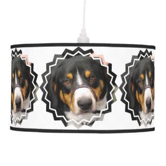 Entlebucher Mountain Dog Pendant Lamps
