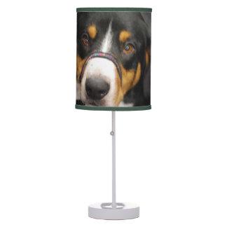 Entlebucher Mountain Dog Table Lamps