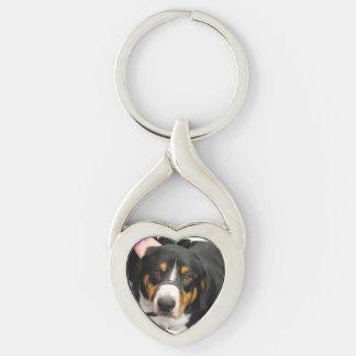 Entlebucher Mountain Dog Keychains