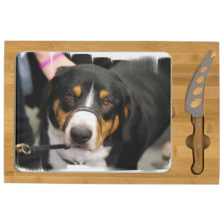 Entlebucher Mountain Dog Rectangular Cheeseboard