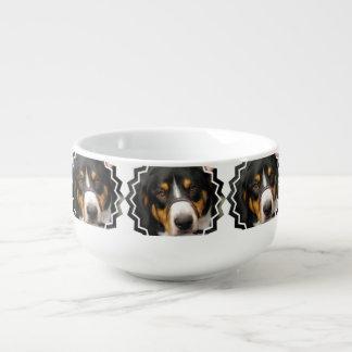 Entlebucher Mountain Dog Soup Mug
